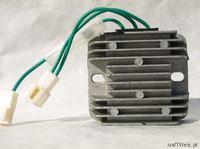 Briggs&Stratton model 406777 - B&S 20KM Uszkodzony regulator dziwne napi