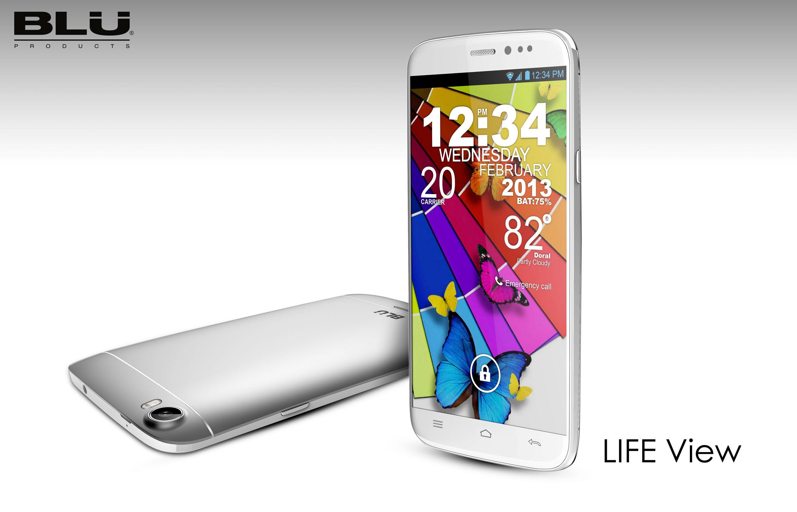 """Blu Life View - nowy smartphone z 5,7"""" ekranem i Android 4.2"""