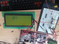 Wyświetlacz LCD ITM-400160 biblioteka C (ARM)
