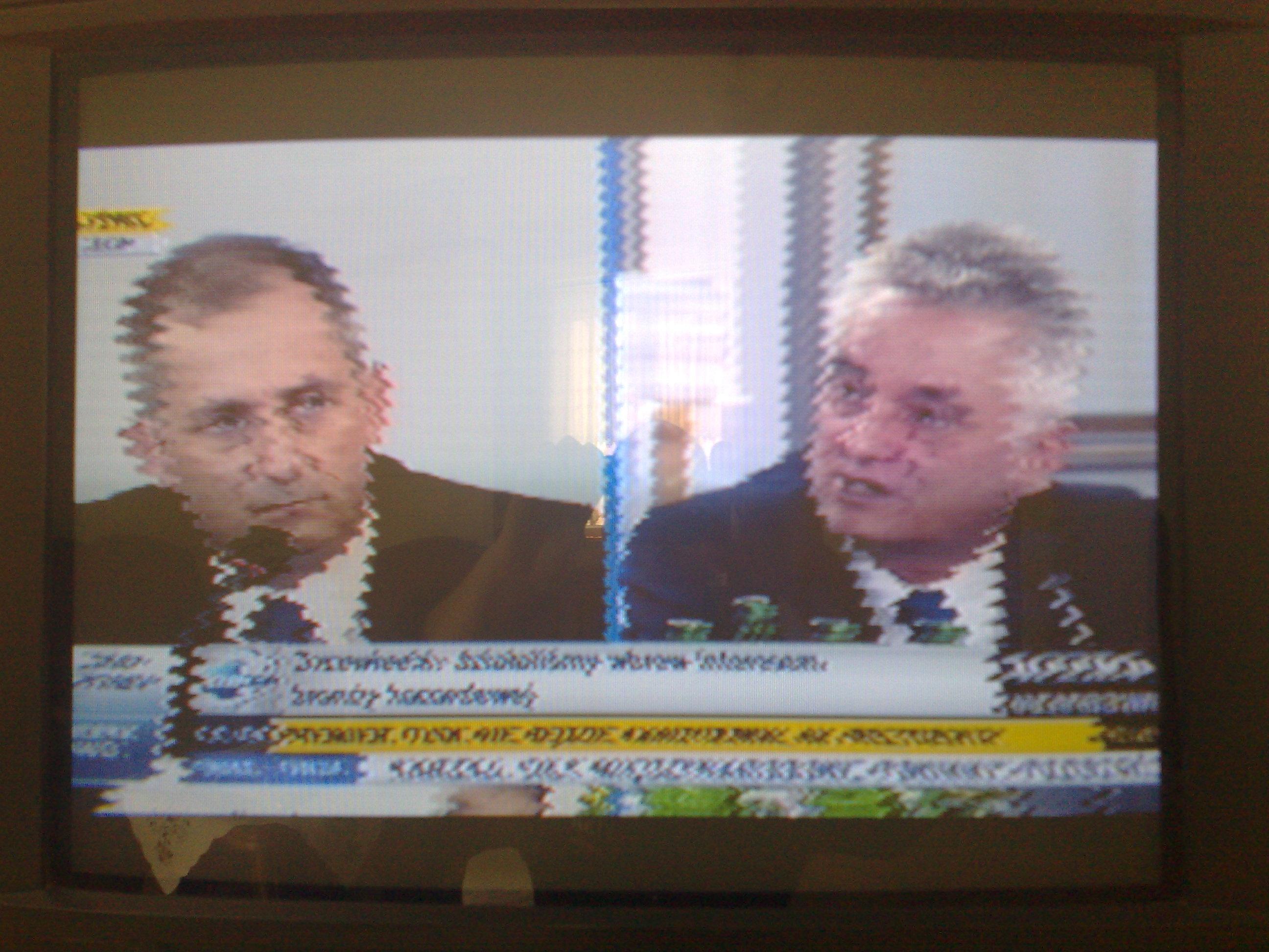 HCM TV-7102 - Brak obrazu, wcze�niej co kt�ra� linia pikseli by�a przesuni�ta