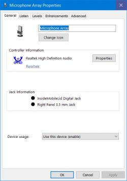 Problem z mikrofonem pod Windows 10 64bit