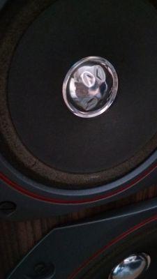 Wygięta kopułka przeciwpyłowa w głośniku GDM