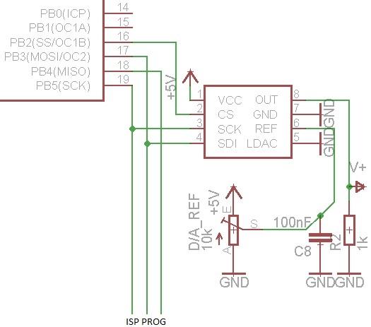 [AVR] - MCP490X - Wsp�dzielenie ISP i SPI dla ATmega8/32