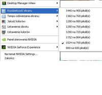 Brak sygnału HDMI w TV GeForce 8200