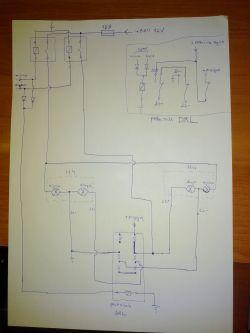 Ogranicznik prądu żarówki H4 - chciałbym dorobić