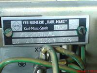 Frezarka Heckert VEB Numerik PS 2000/1
