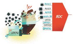 Rzadko zadawane pytania: po co tyle napięć zasilania dla ADC?