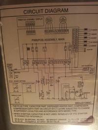 LG GR-429QXJA - błąd ER/DH