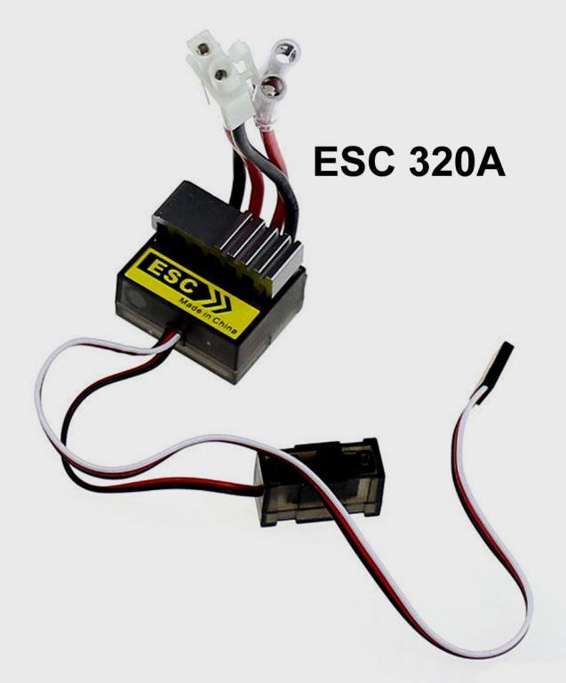 [Sprzedam] Regulator ESC 320A samochodowy dwukierunkowy