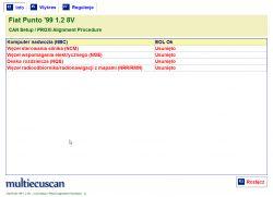 Punto II FL - Błędy C1012 i C1013