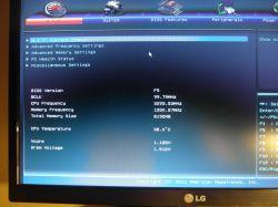 BIOS-flash, utrata Boot Mode Selection.