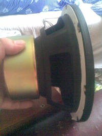 Głośnik JVC LE10020 pomysł na subwoofer