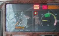 Mercedes Actros Mp1 - Brak jazdy na połówkach