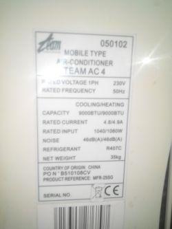 Szukam Instrukcji obsługi Klimatyzatora TEAM AC4