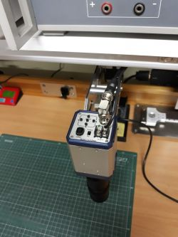Inspection microscope stand (made to measure)