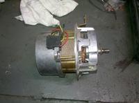 Prądnica z silnika do elektrowni wodnej