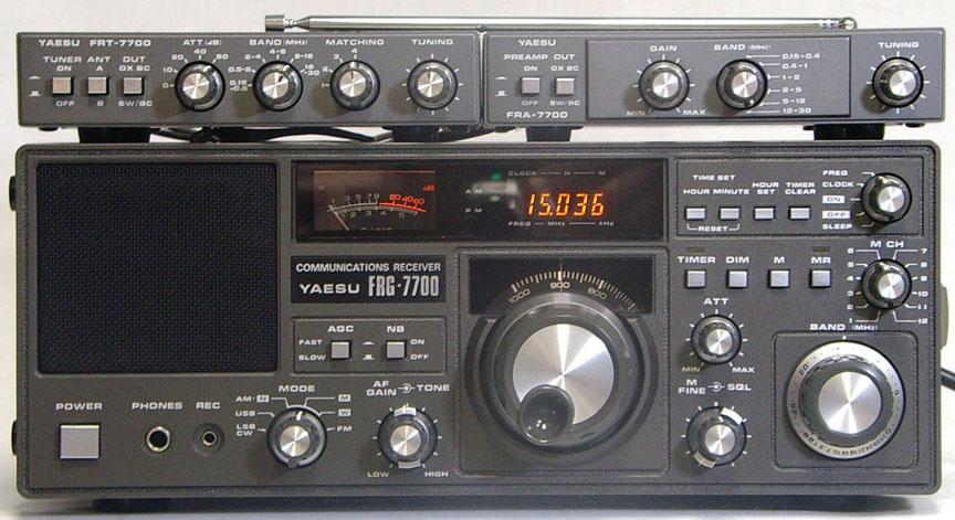 Yaesu FRG-7700, FRG700 Instrukcja EN