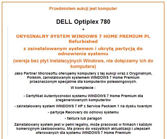 firma a windows - Legalny Windows i Office w firmie na komputerze po-leasingowy