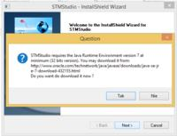 STM32 - STM Studio na Windows 8 i problem z Java