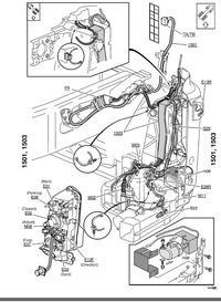 Volvo fh 12 - światła przeciw mgielne przednie