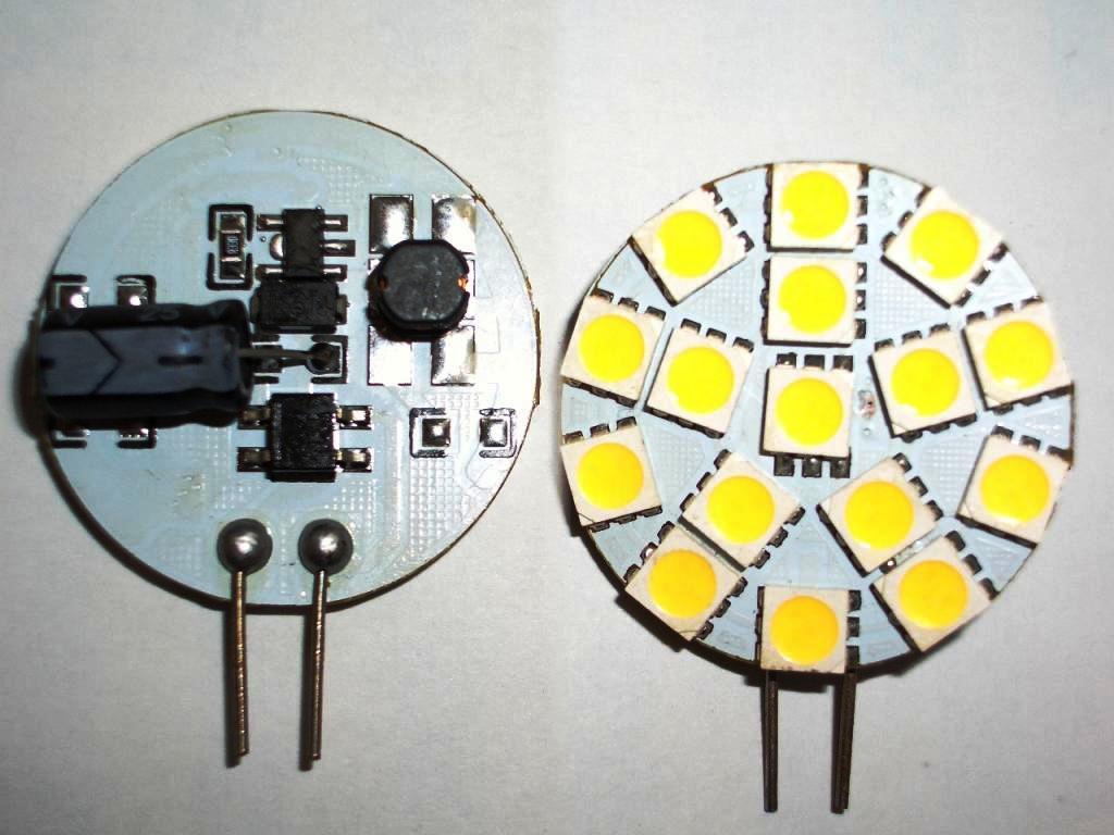 Zasilanie �ar�wek LED (zamiennik�w halogenowych G4)