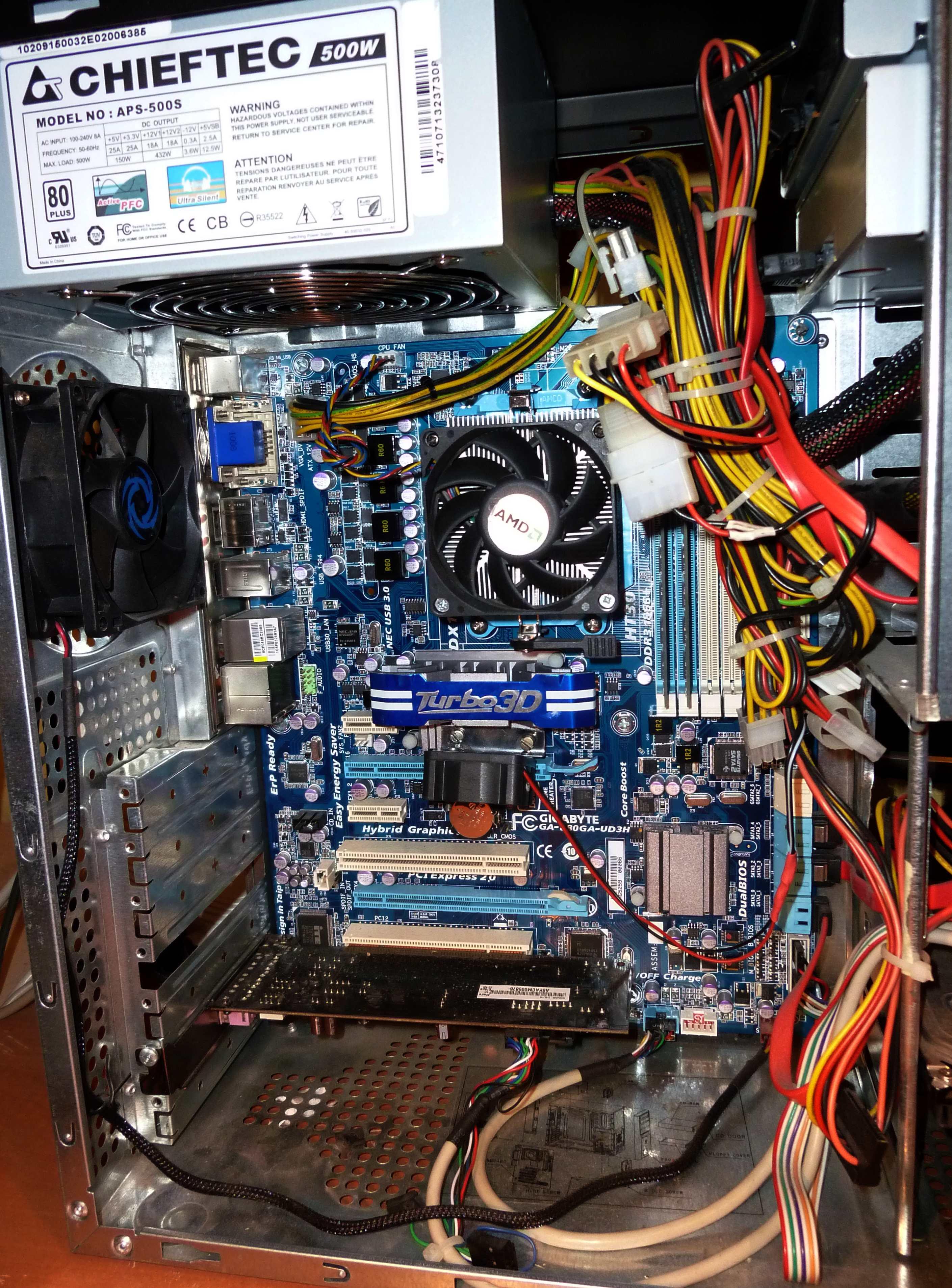 Gigabyte 880GA-UD3H - Komputer restartuje si� albo zatrzymuje na chwil�
