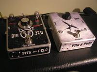 Kopie dw�ch efekt�w gitarowych - EHX Big Muff oraz MXR Micro Amp