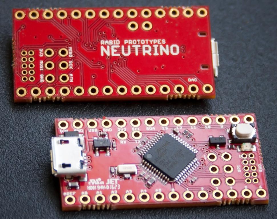 Neutrino zgodna z arduino płytka prototypowa o