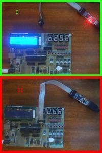 AVR/moduł uruchomieniowy - Zwarcie moduł-programator