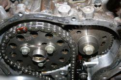 Renault Master III - ustawienie koła na wałku wydechowym