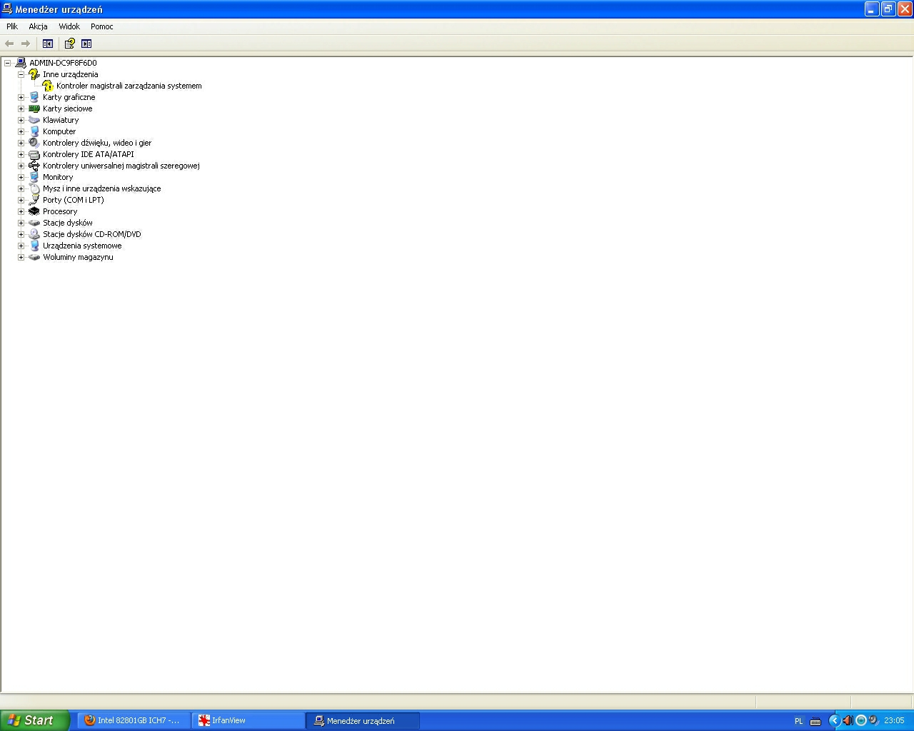 Intel 82801GB ICH7 - High Defi - Brak dzwi�ku