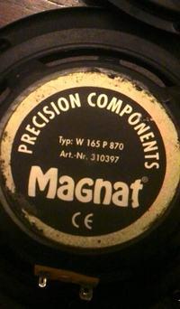 Magnat Typ W 165 P870 - Jakie zamienniki głośników wstawić do kolumn?