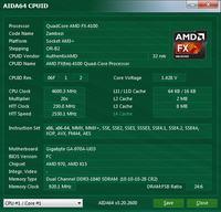 Sabertooth 990fx podkr�cenie amd fx-4100 3.6Ghz