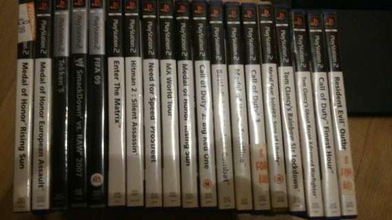 [Sprzedam] Konsola PlayStation 2 + 19 gier