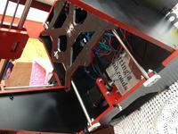 Drukarka 3d RepRap Graber i3 aluminium