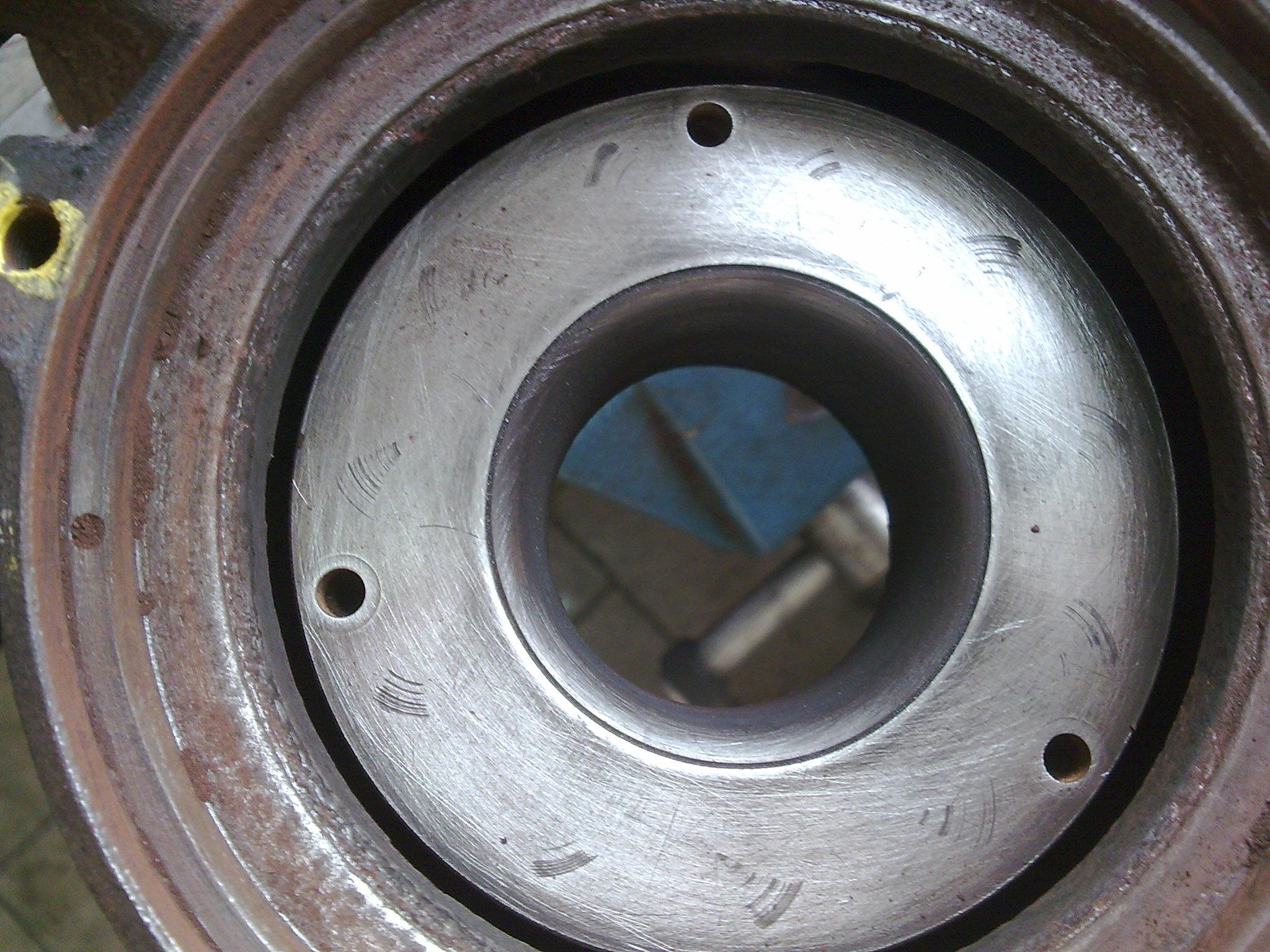 Turbina, 1.9 TDI - pow�d zapiecze� kierownic turbiny