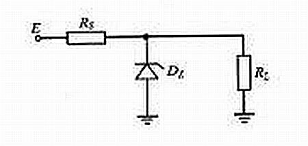 Dioda Zenera - rozpływ prądów w obwodzie z dwoma rezystorami