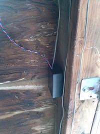 Zamek z czytnikiem linii papilarnych do bramy garażowej