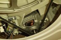 Siemens WM10A163PL - Pęknięty bęben? Woda cieknie z pralki podczas prania.