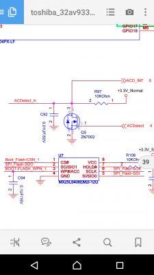 Sharp LC-32LE144E - Potrzebny schemat. Brak elementu.