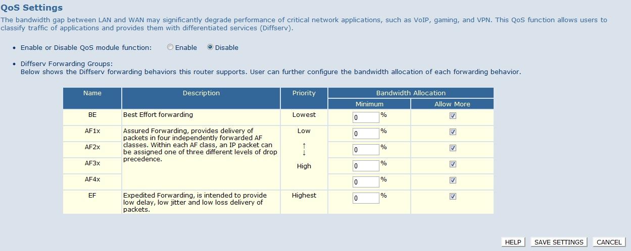 Konfiguracja QOS, firewall - zmniejszenie pr�dko�ci internetu.