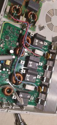 Indukcja Amica PB*4VI515FTB4 - Płyta się wyłącza, nie załącza się wentylator