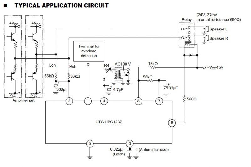 AIYIMA Opóźnione załączanie i zabezpieczenie zestawów głośnikowych (uPC1237)
