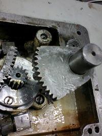 wiertarka WKA-40 ustawienia hydrauliki.