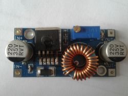 Description of the step down converter based on the XL4005