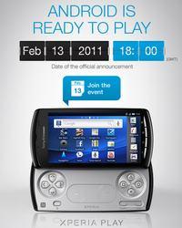 Sony Ericsson potwierdza Xperia Play, pokaz na MWC 13 lutego