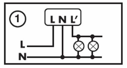 Czujnik ruchu. Co oznacza L?