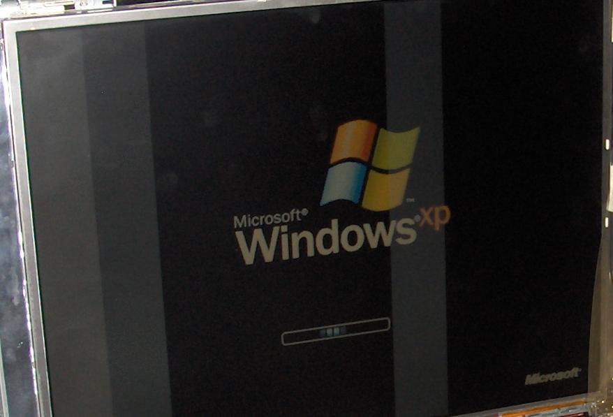 Matryca w laptopie acer - wyblakłe paski