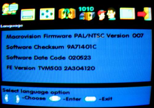 AIWA XD-DV520 - update firmware'u?