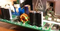 Płyta AsRock kondensatory odwrotnie minus?